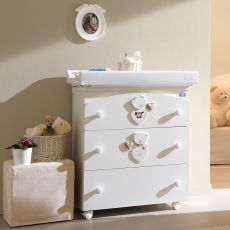 Céline Baby F - Pali changing table-baby bath, with 3 drawers