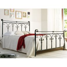 Granada 140 - French bed in wrought iron, available in several colours