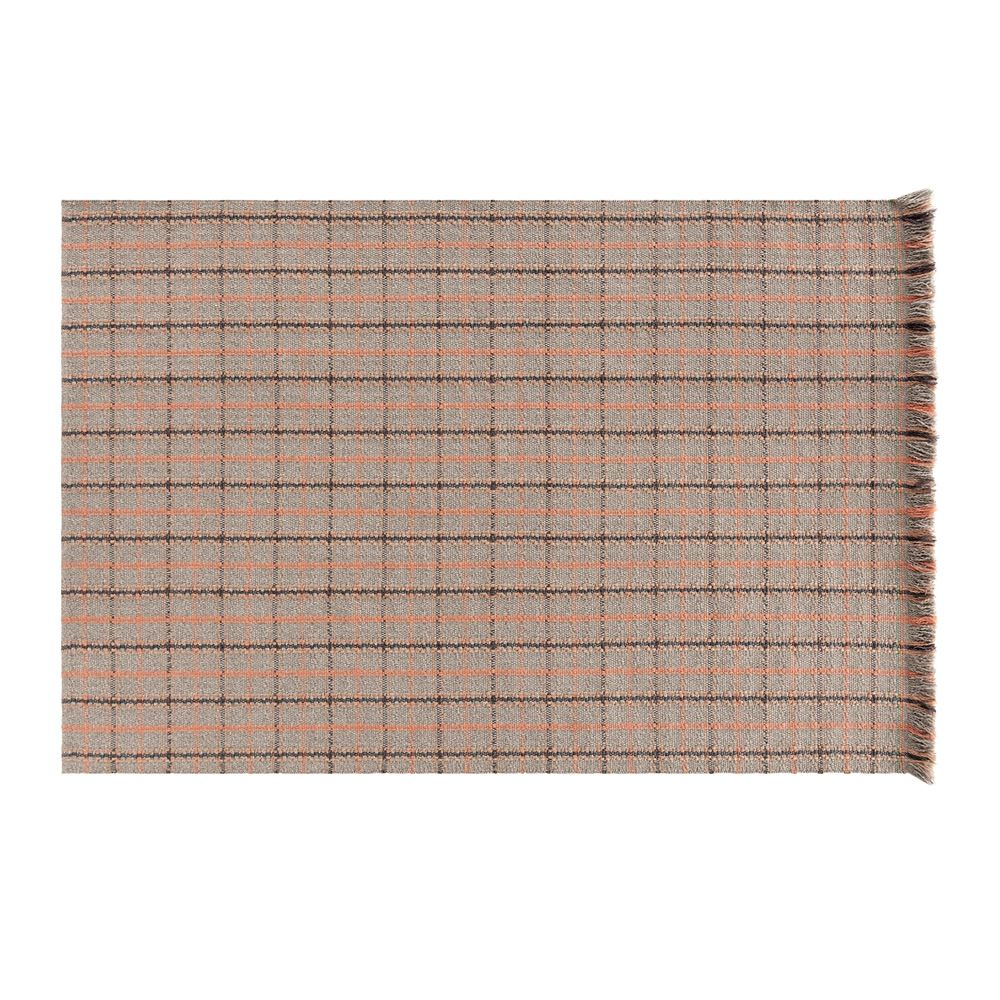 Garden Layers Carpet Size (cm) 90 cm x 200 cm Version Tartan terracotta