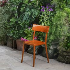 Catwalk - Kartell design chair, in polycarbonate, stackable, also for garden