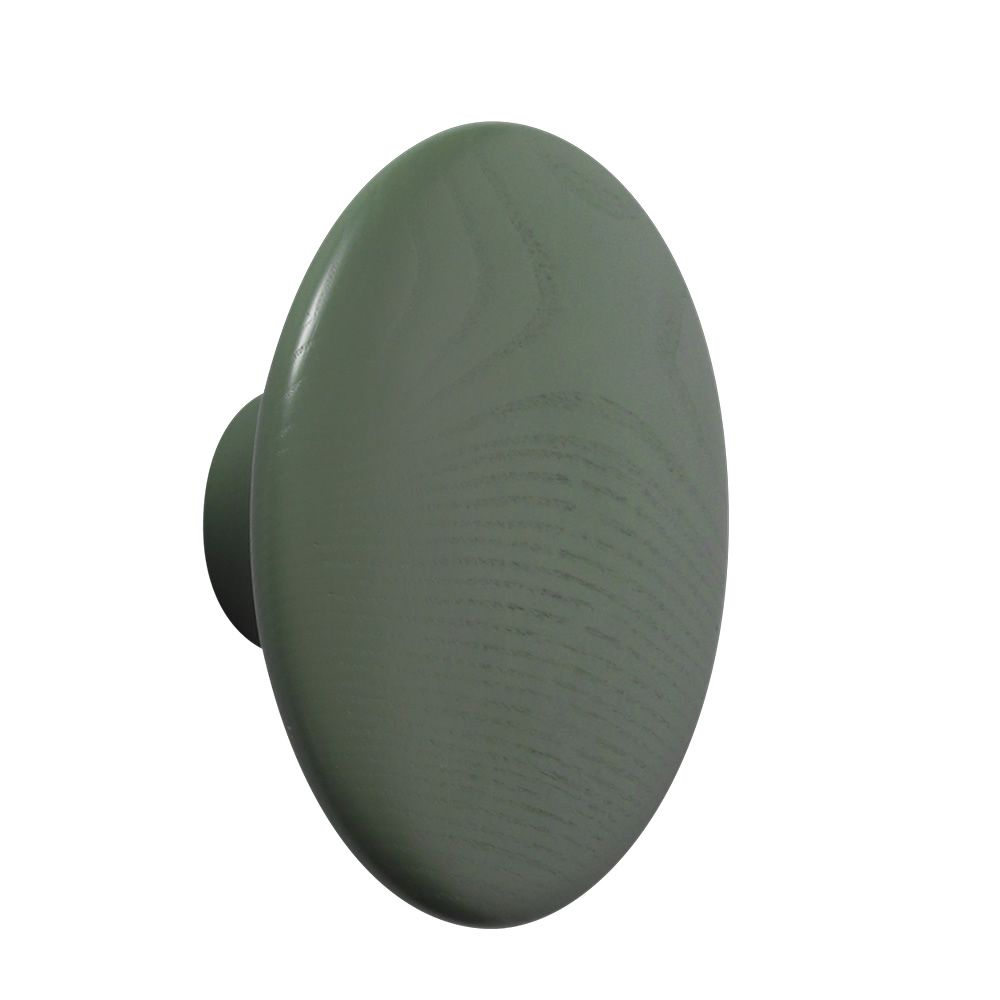 The Dots Ash wood Dusty green colour Size Large. Express Delivery