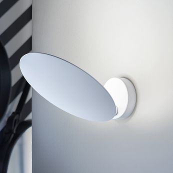 Puzzle Round - Ceiling lamp, small version (S), white colour