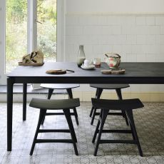 Osso-SG - Ethnicraft wooden stool, different heights available