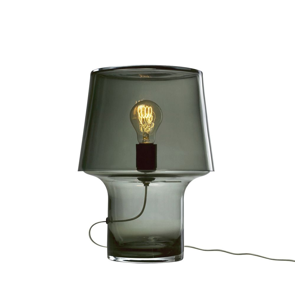 Table lamp in glass