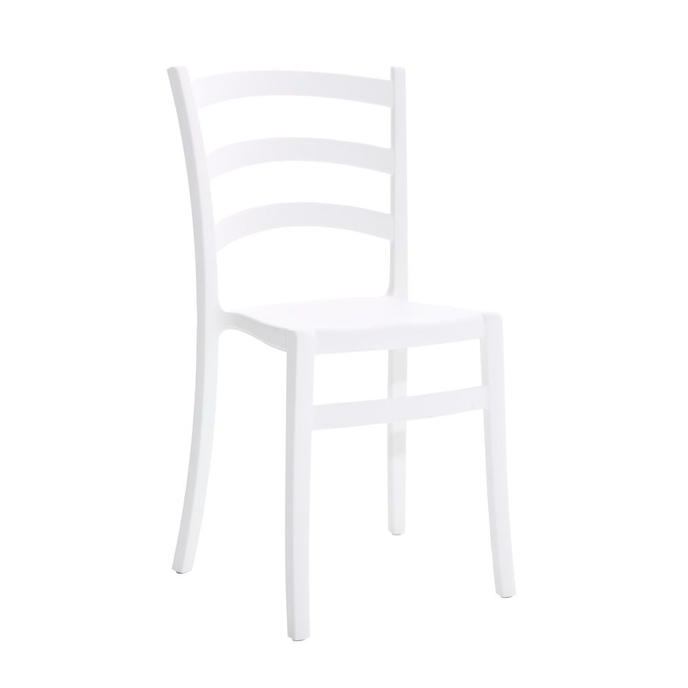 Italia chair by Colico Design, white polypropilene