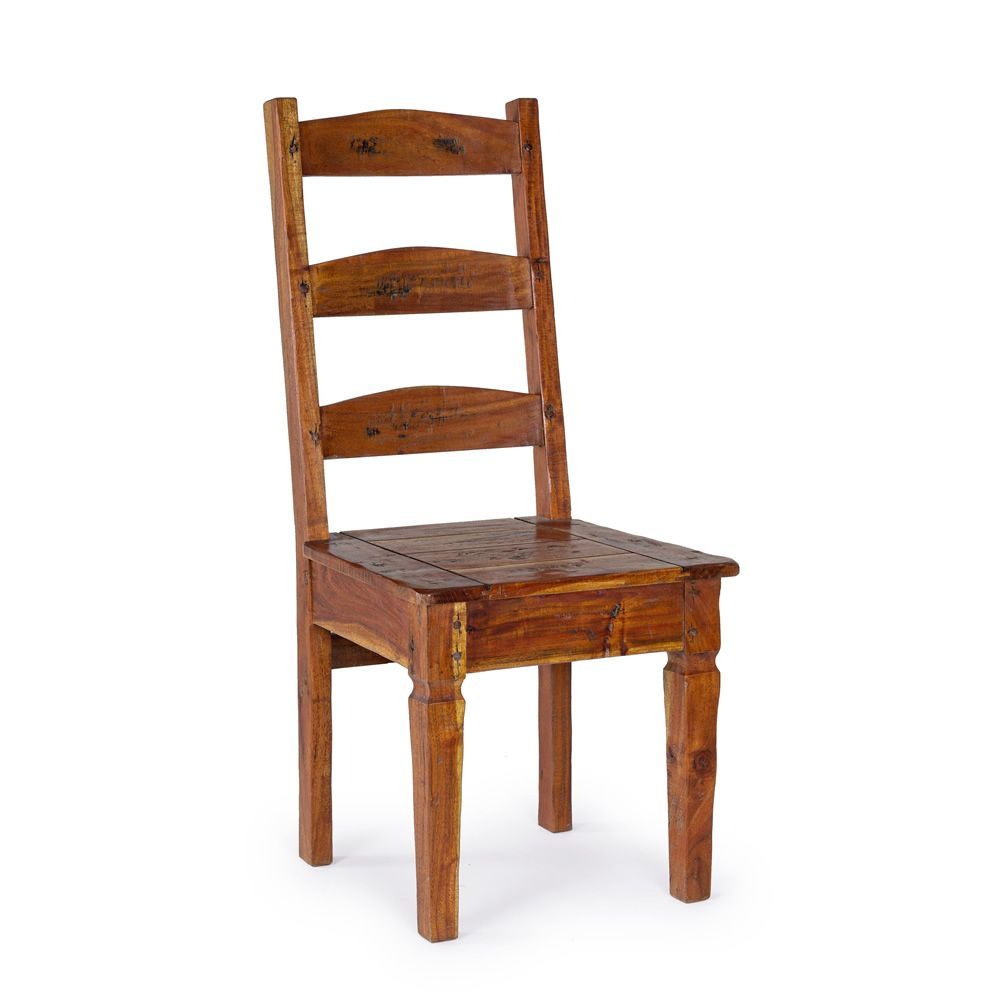 Chair in indian acacia