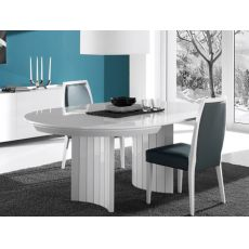 Anversa - Table ronde design, extensible