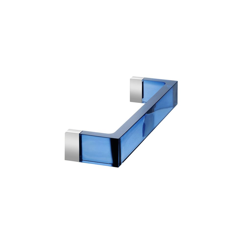Rail Size Small Transparent Technopolymer Blue