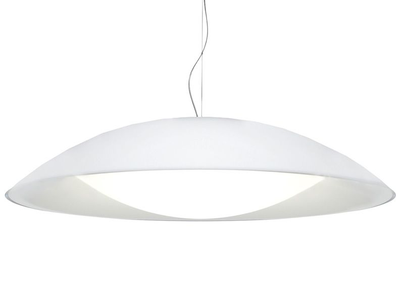 Kartell suspension ceiling lamp, white colour