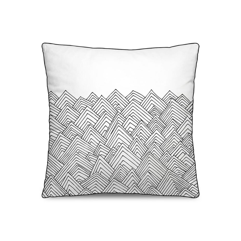 Cushion with removable cover by Pôdevache, 45 x 45 cm