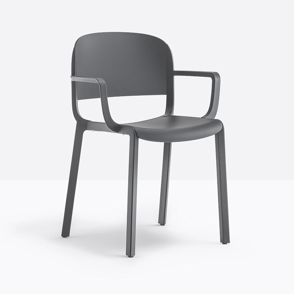 Dome 260 Structure Anthracite grey Armrests With armrest