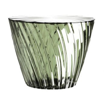 Sparkle - Kartell design coffee table, in sage green colour