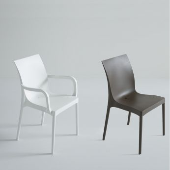 Iris - Chairs with and without arms