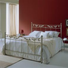 Nebraska big 25.71 - Double bed in iron, several colours available