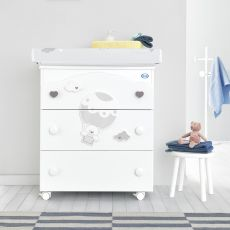 Bonnie F - Pali changing table-baby bath, with 3 drawers