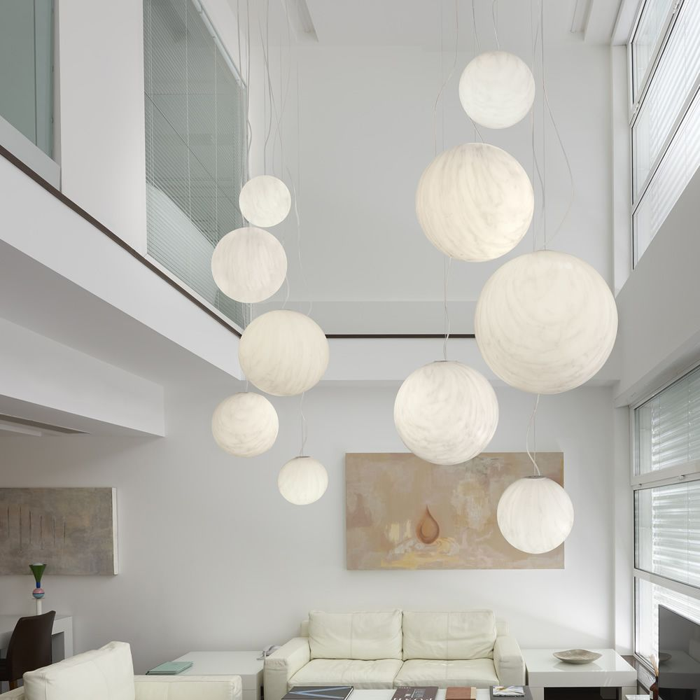 Design pendant lamp in polyethylen