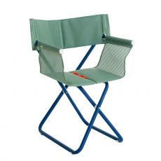 Snooze R - Emu director chair, made of metal and net, folding, for garden