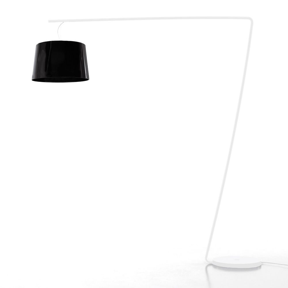 L001T Structure White varnished metal Full methacrylate Black