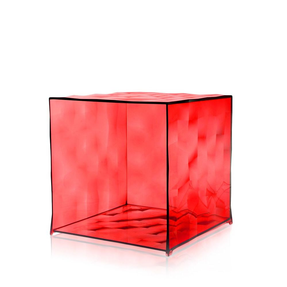 Design Kartell container without door, red colour