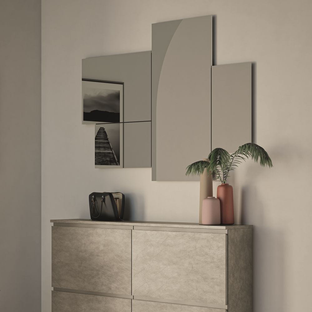 Composition E, matching with Minima shoe cabinet