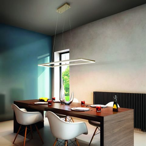 Design lamps in metal and methacrylate