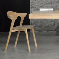 Bok - Chair made of oak wood, different finishes available