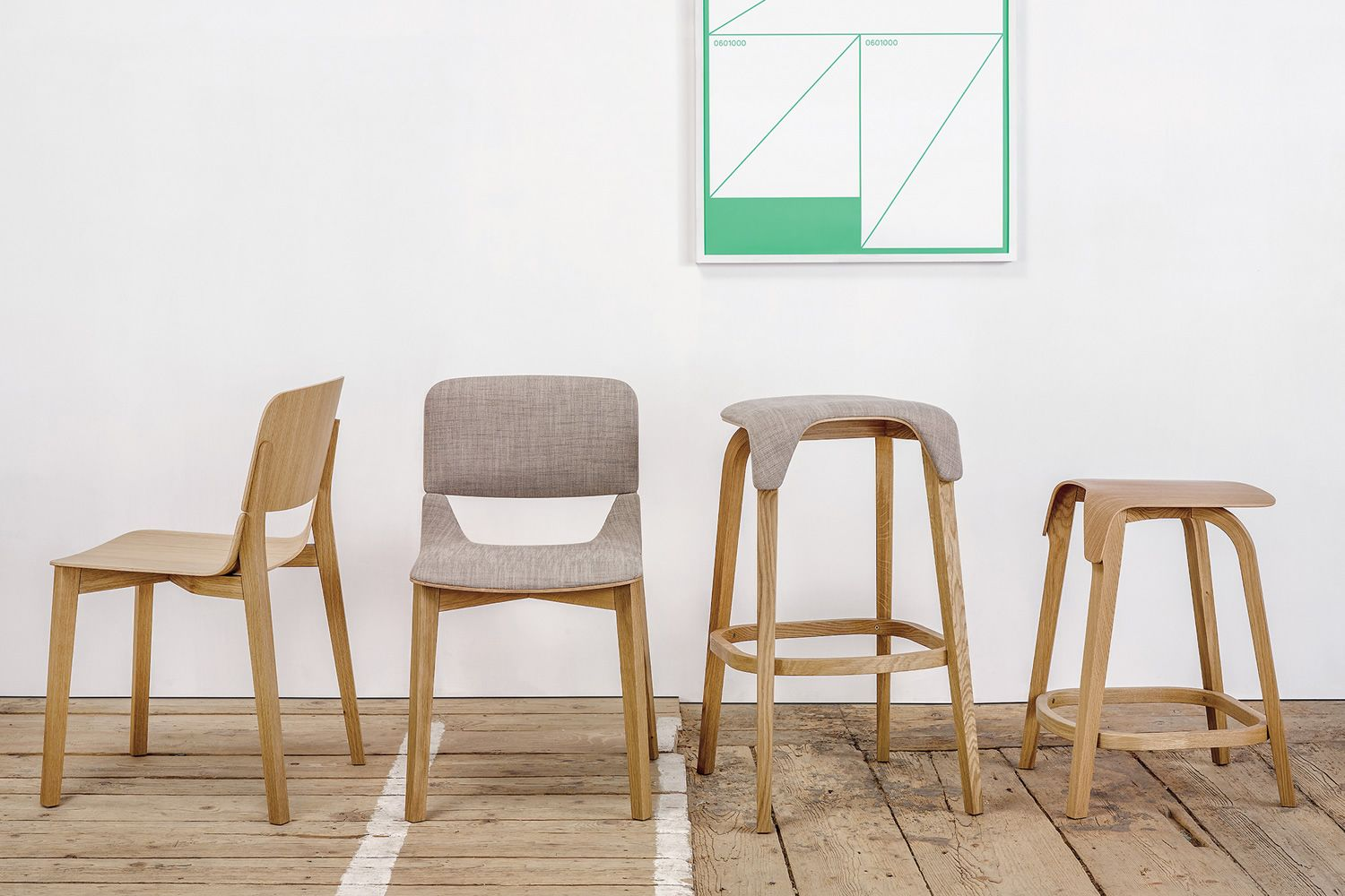 Chairs and tables: Leaf stool