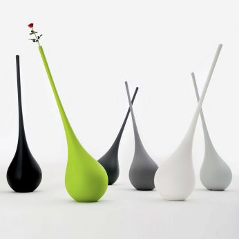 Ampoule - Design vase - floor lamp made of Poleasy®, different colours available, also for outdoor