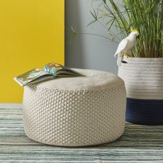 Berenice - Pouf for garden, in fabric, available in different dimensions