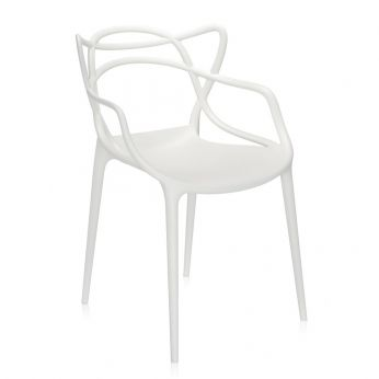 Masters - Design chair, white polypropylene