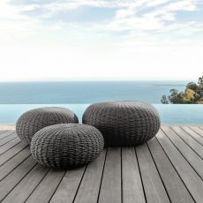 Jackie Pouf - Pouf for outdoor, several sizes available