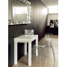 Cosmo - Domitalia wooden console, 100x50 cm extendable, with 3 extensions