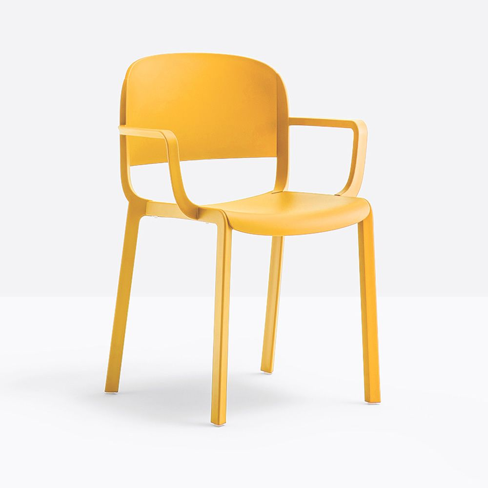 Dome 260 Structure Yellow Armrests With armrest
