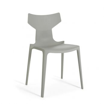 Re-Chair - Grey coloured recycled polypropylene chair