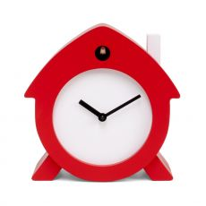 Home Sweet Home - Table cuckoo clock made of wood, different colours available