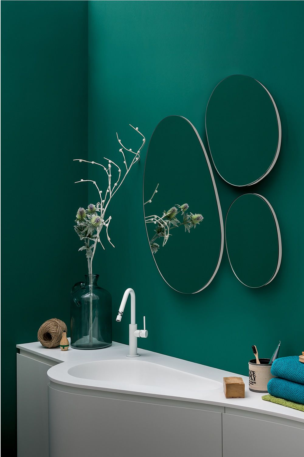 Mirror composition matching with Versa sink cabinet