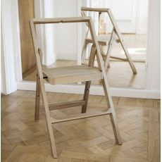 Mini Step - Folding chair made of wood