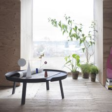 Around - Muuto coffee table in wood, available in different dimensions