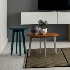 Zoe - Dall'Agnese night stand - side table made of wood, different finishes and sizes available