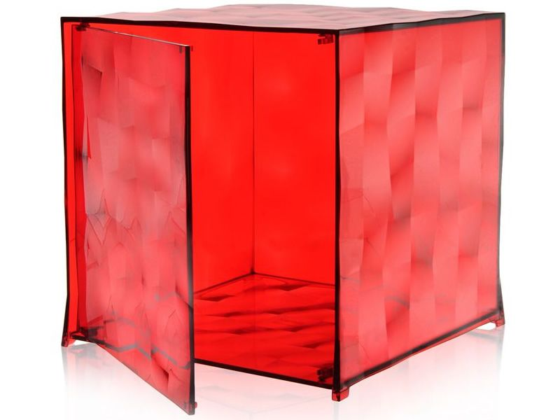 Optic Transparent methacrylate Red Door Yes