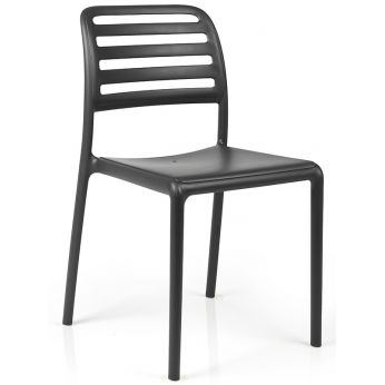 Costa Bistrot - Garden chair in anthracite colour