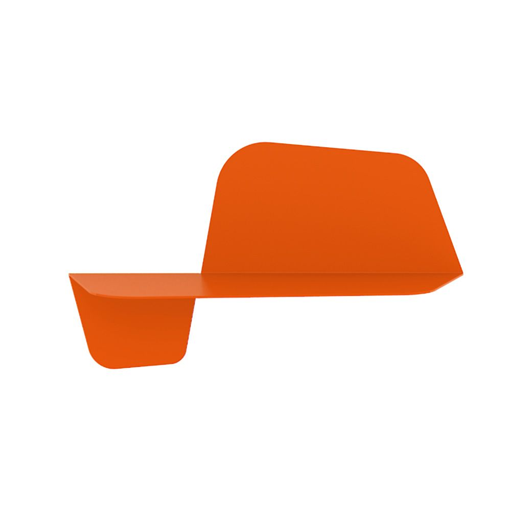 Metal shelf, colour orange, M model