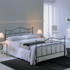 Alabama big 25.42 - Double bed in iron, available in several sizes