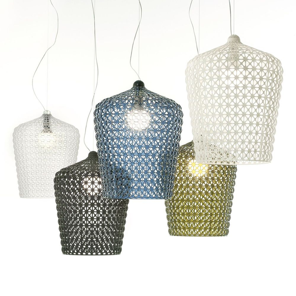 Kartell pendant lamps, in several colours
