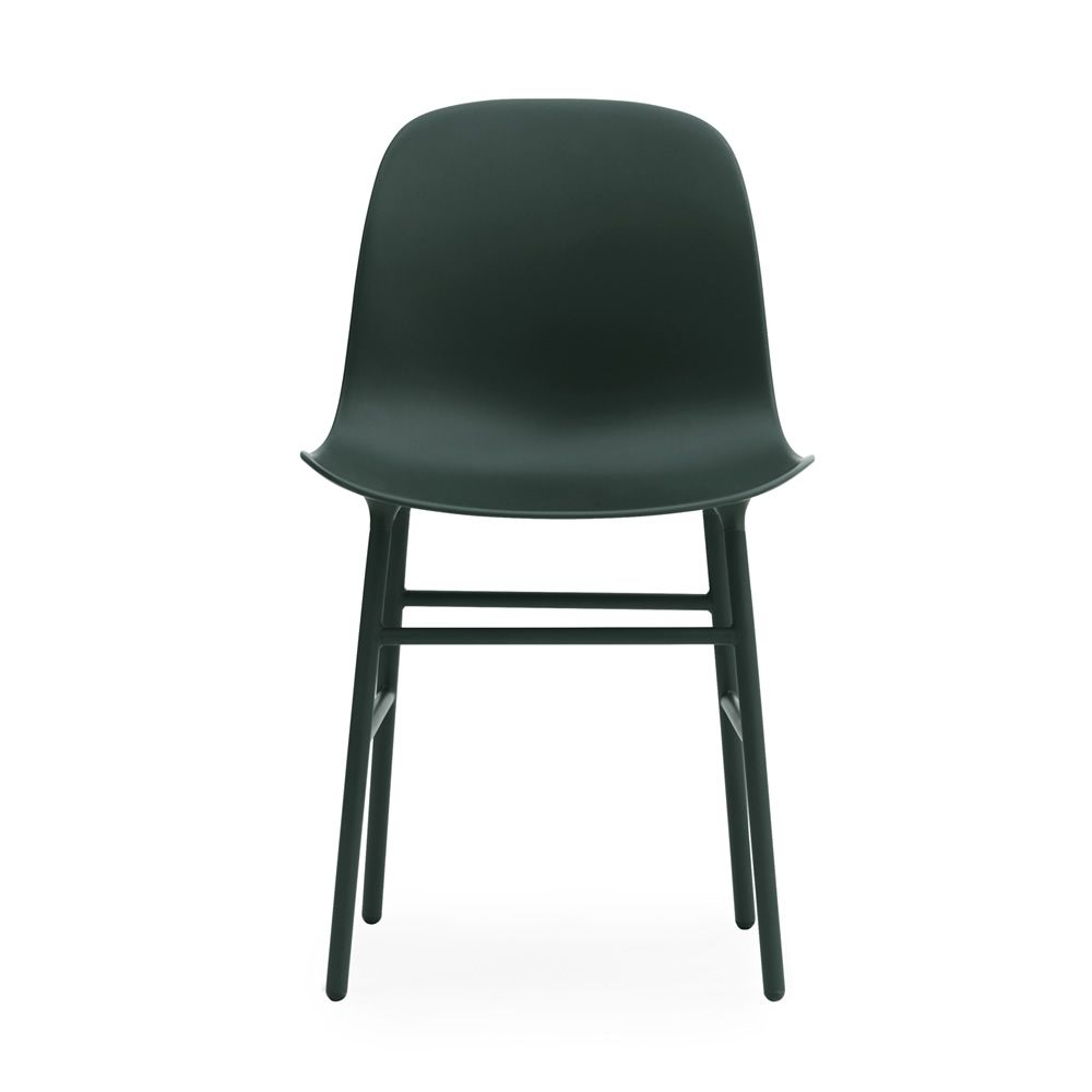 Form Structure Matching colour with seat Polypropylene seat Green