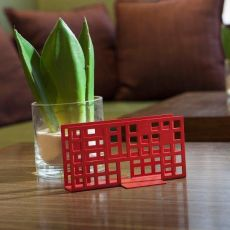 City T2 - Napkin holder in metal, available in several colours