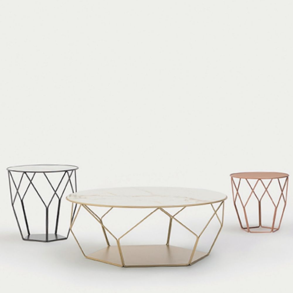 Arbor family coffee tables by Bonaldo (models: Arbor 50x49, Arbor 97, Arbor 40)