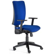 Five - Task chair for office, certified, with upholstered seat and backrest, with or without adjustable armrests, different finishes available