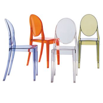Victoria Ghost - Kartell design chair, in several colours