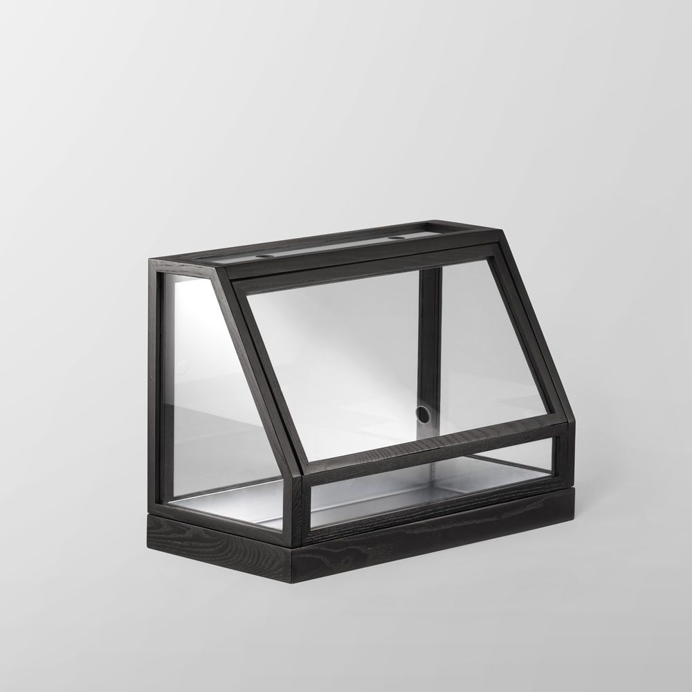Greenhouse Mini Ash wood Anthracite colour. Express Delivery